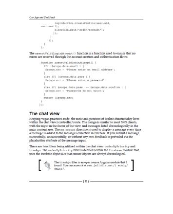 Разработка веб-приложений с использованием AngularJS 7
