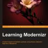 Learning Modernizr, Adam Watson, 2012