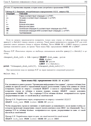 изучаем PHP 7 Девид Скляр Глава 8
